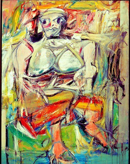 odio a las mujeres en pintura kooning