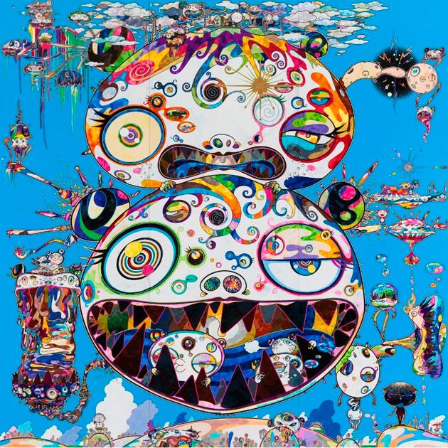 """Razones por las que el Murakami que pinta es mucho mejor que los """"murakamis"""" que escriben"""