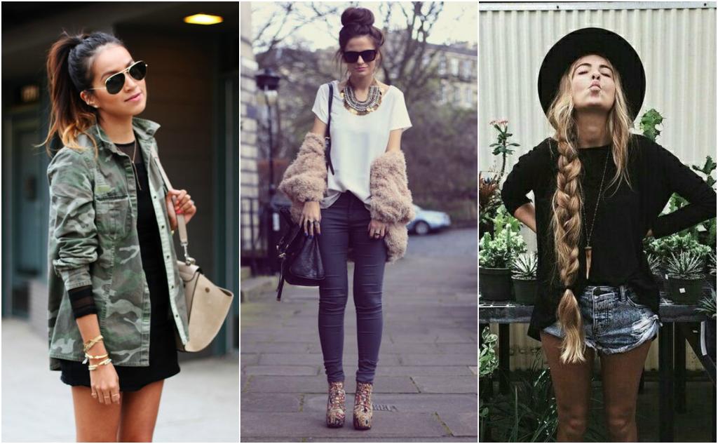 peinados outfits moda