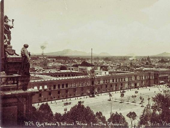 plaza fotografias historicas ciudad de mexico