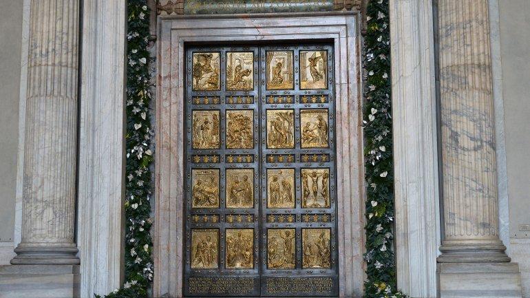 puerta santa papa