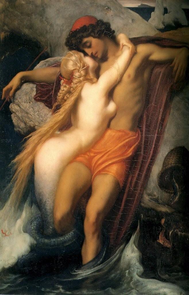 romantic paintings  fleighton