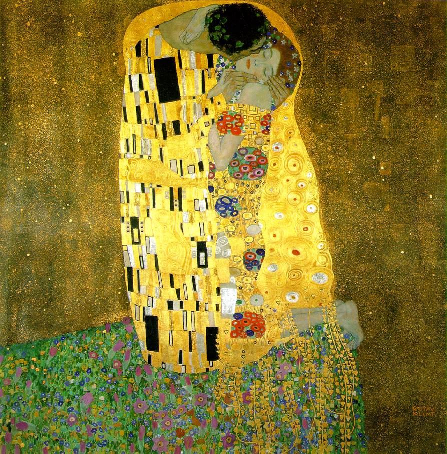 romantic paintings klimt
