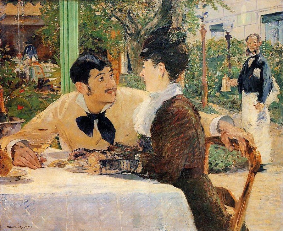 romantic paintings manet