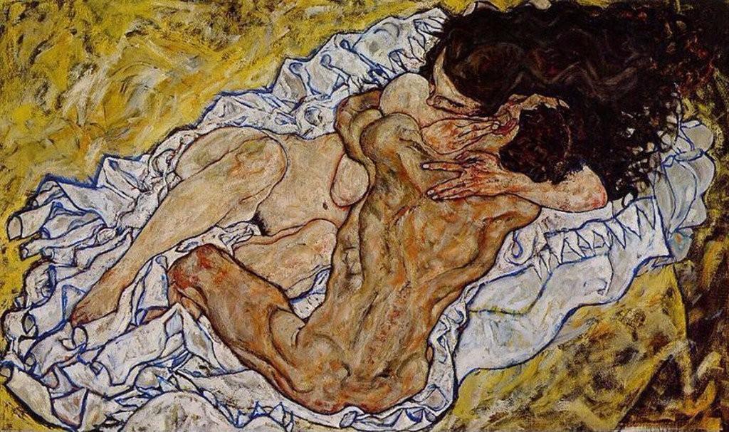 romantic paintings schiele