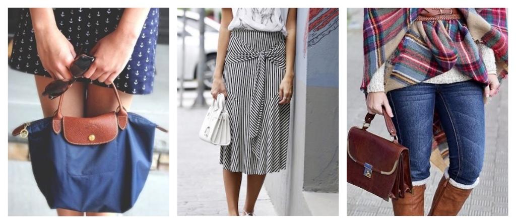 ropa para chicas bajitas bolsos