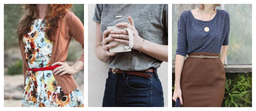 ropa para chicas bajitas cinturon
