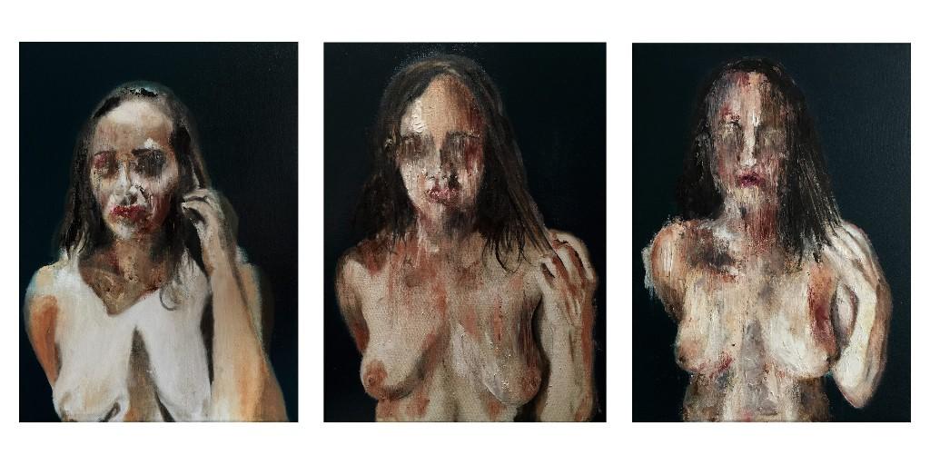 rostros pinturas eroticas