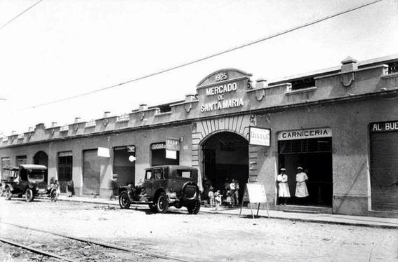 santa maria fotografias historicas ciudad de mexico