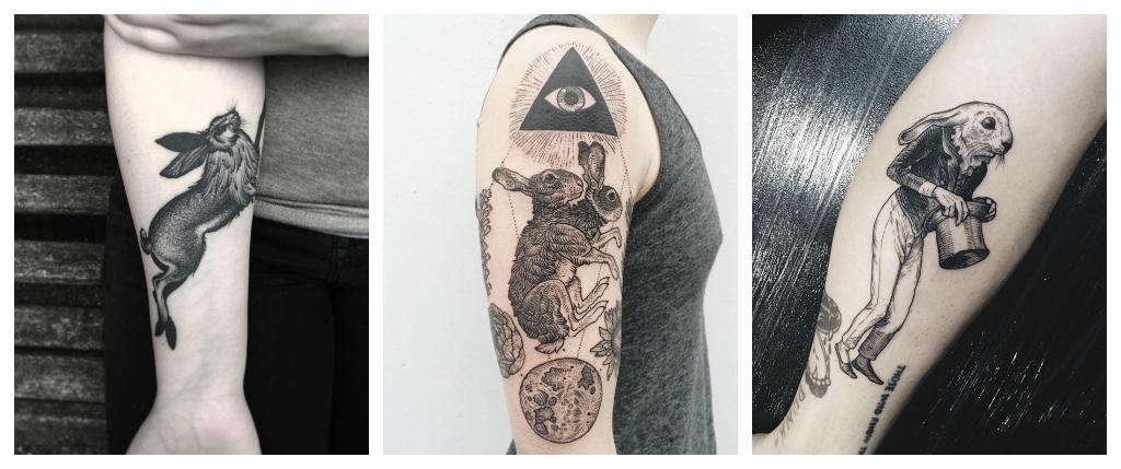 tatuajes de conejos cultura