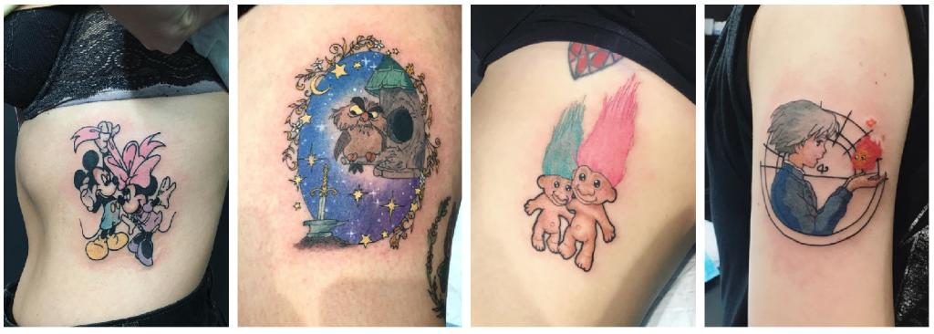 tatuajes inocencia disney