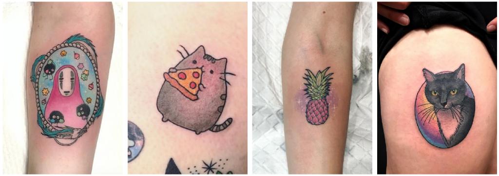 tatuajes inocencia gatito