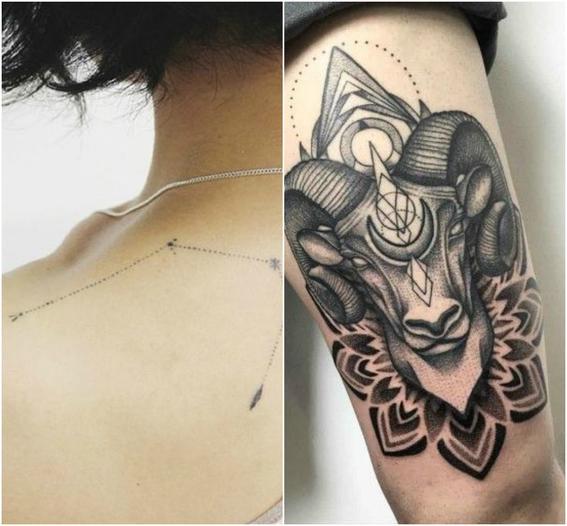 tatuajes zodiacales aries