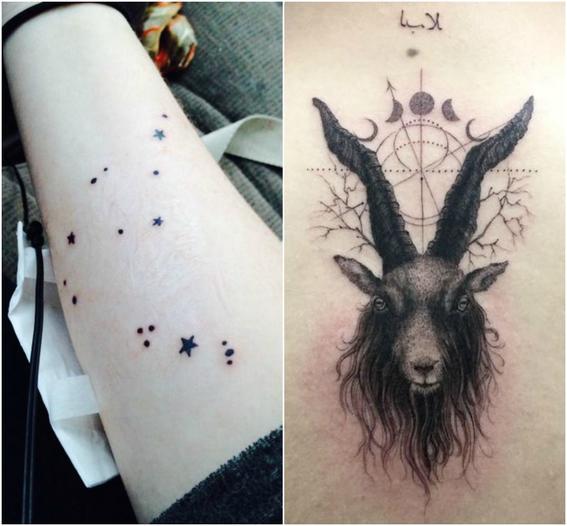 tatuajes zodiacales capricornio