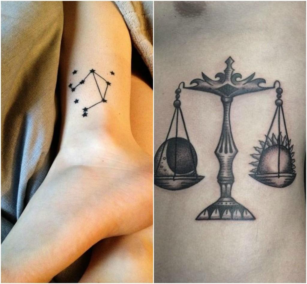 tatuajes zodiacales libra