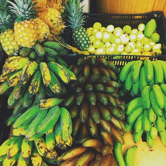 the green corner frutas restaurantes vegetarianos