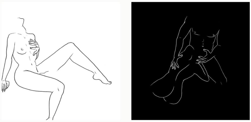 trazos sensuales imagenes