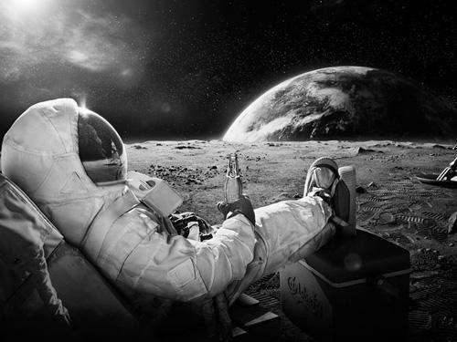 turismo espacial astronauta