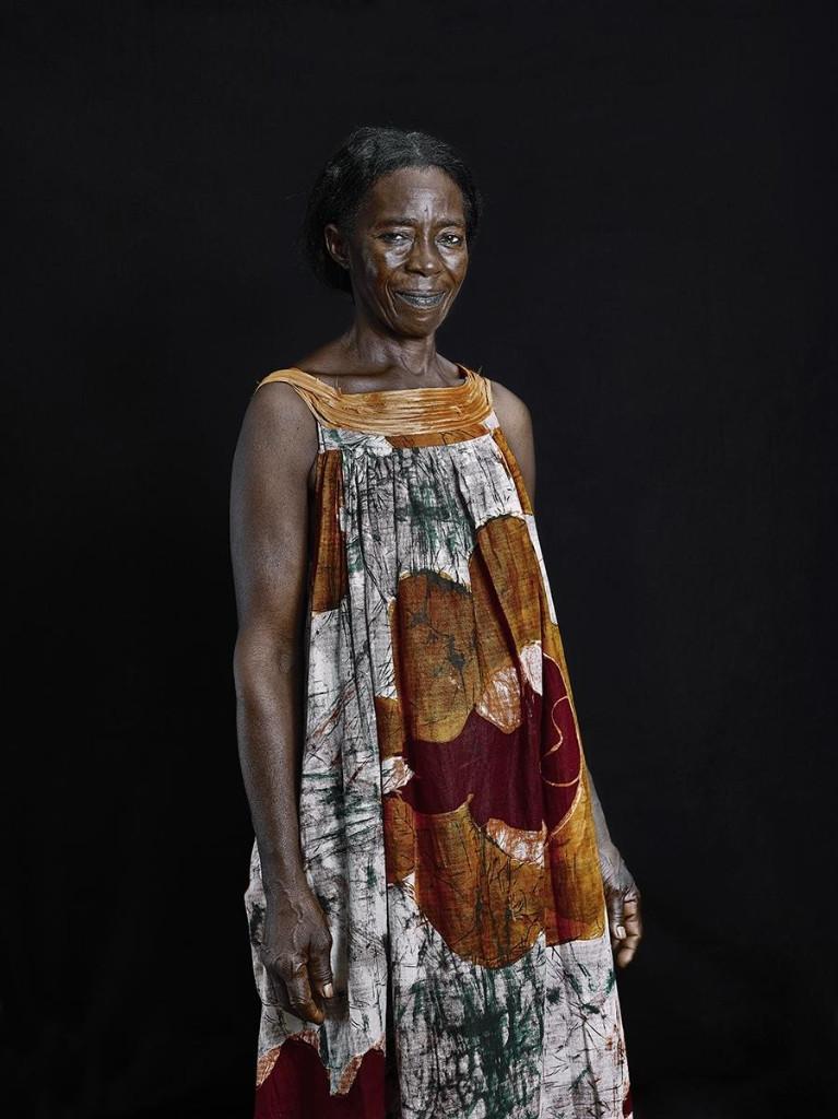 vestido ninas de camerun