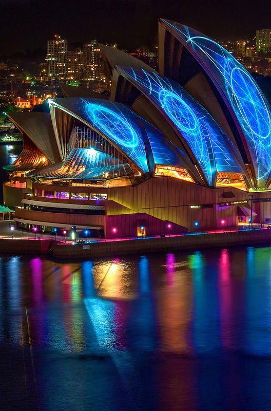 viajar a australia noche
