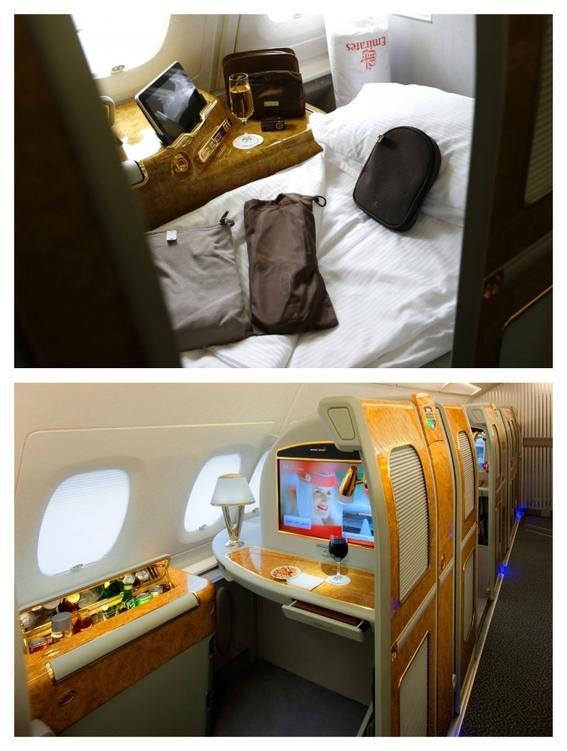 viajes de primera clase emirates