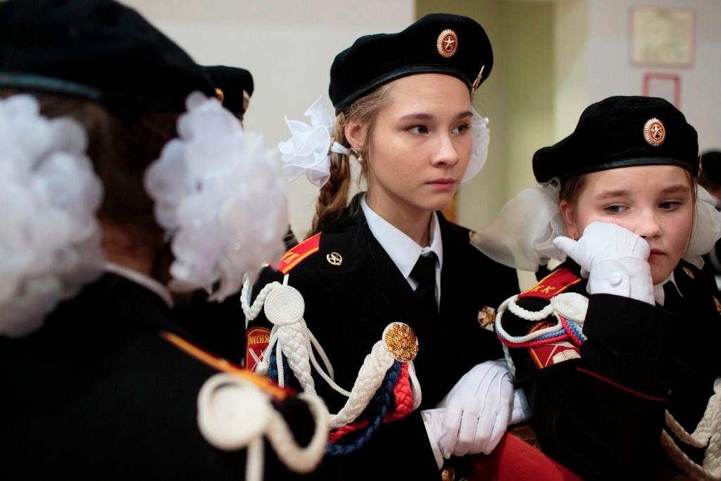 young army russian patriotic militia