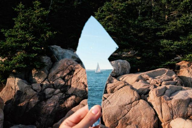 barco espejo roto