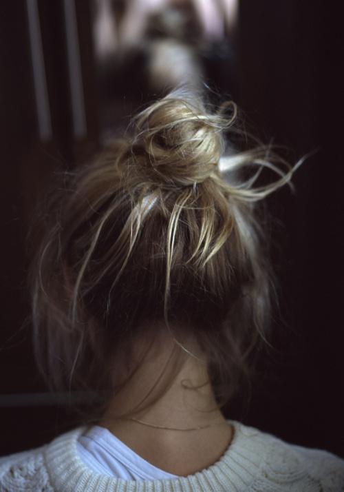bad day hair bun