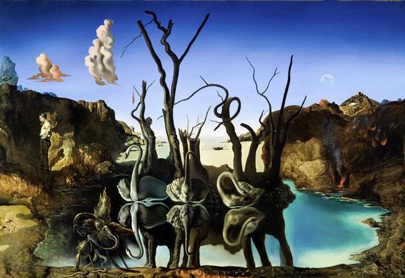 Acerijos en el arte Dali