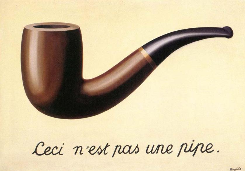 Acerijos en el arte Magritte