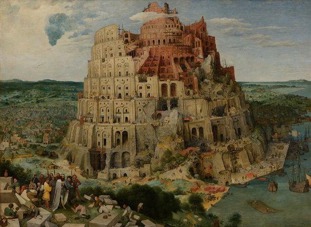 Ancient civilizations built pyramids babel-w636-h600