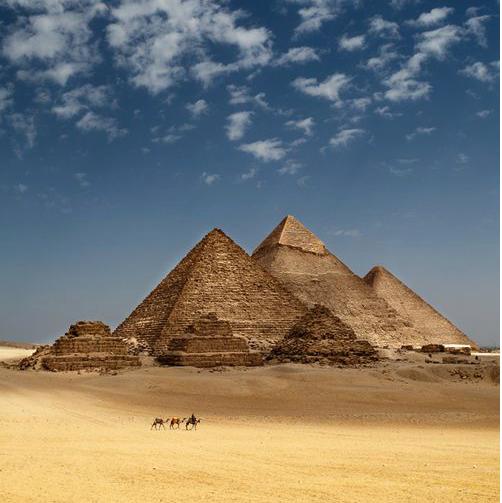 Ancient civilizations built pyramids giza-w636-h600