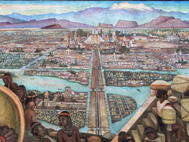 Aztec Goddesses Childbirth City Tenochtitlan-w636-h600