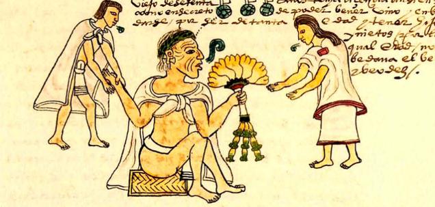 Aztec Goddesses Childbirth Codex-w636-h600