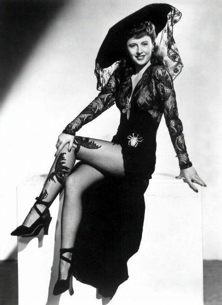 Barbara Stanwyck Femme Fatale Fashion Hat-w636-h600