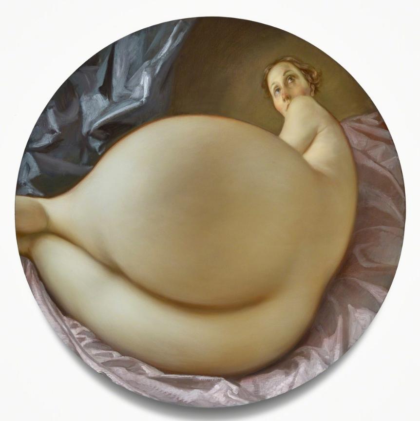 pinturas de John Currin