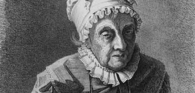 Caroline Herschel astrophysicist old-w636-h600
