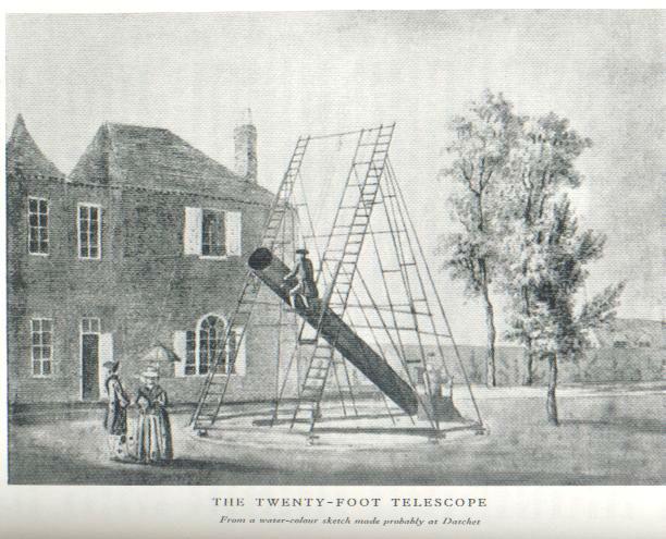 Caroline Herschel astrophysicist telescope-w636-h600