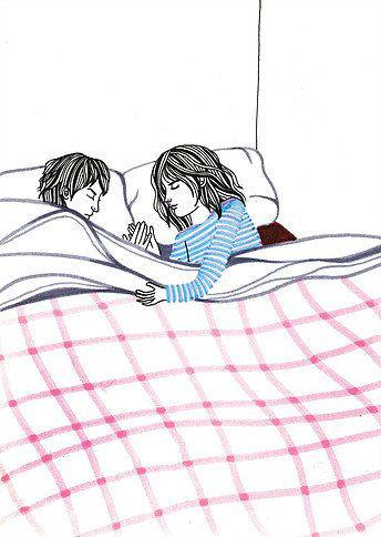 Debbie Woo Healing Broken Heart Illustrations bed-w636-h600