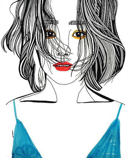 Debbie Woo Healing Broken Heart Illustrations blue top-w636-h600