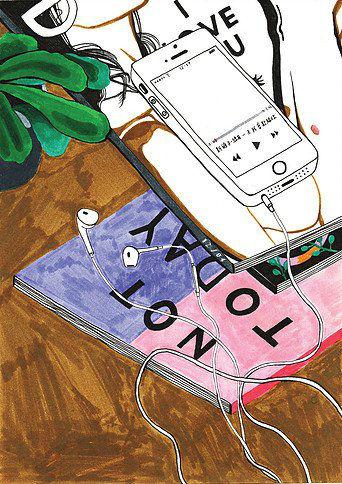 Debbie Woo Healing Broken Heart Illustrations phone-w636-h600