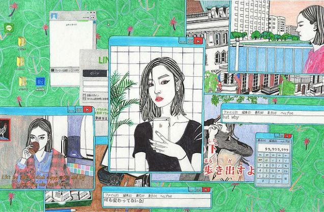 Debbie Woo Healing Broken Heart Illustrations screen-w636-h600