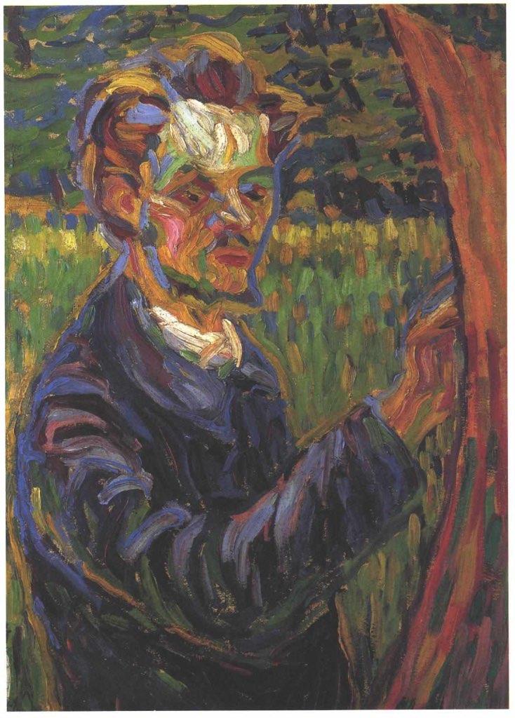 Erich Heckel pintores de El Puente