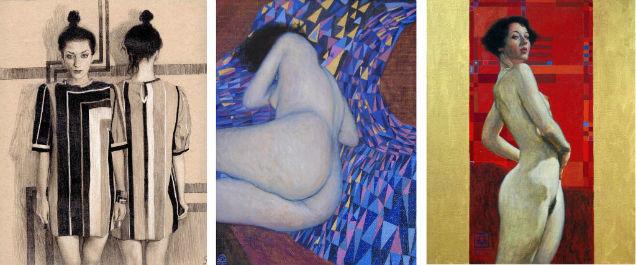 Female Sensuality Art Damian Chavez Femenine-w636-h600