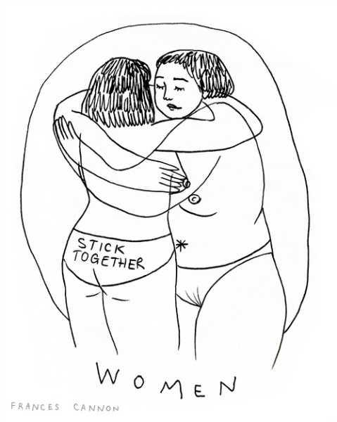 Frances Cannon artista abrazo-h600