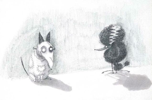 Frankenweenie Tim Burton Edward Gorey -w636-h600