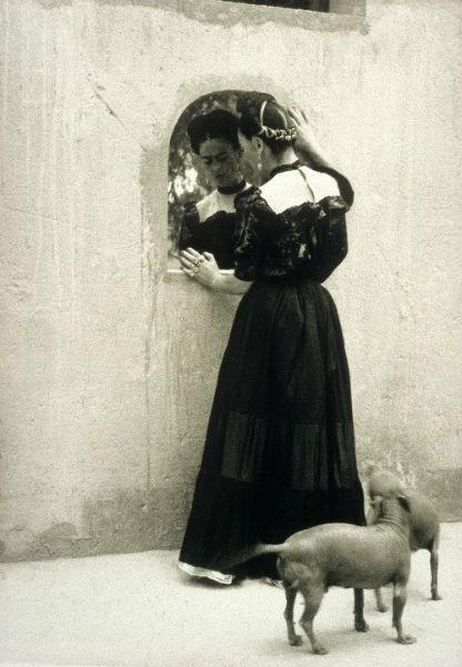 Frida Kahlo Lola Alvarez Bravo Puppies-w636-h600