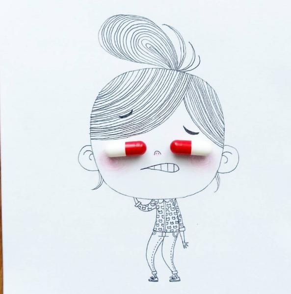 Illustrations Womanhood Marie Margo Pills-w636-h600