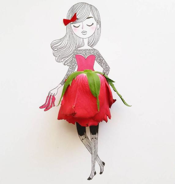 Illustrations Womanhood Marie Margo Rose-w636-h600