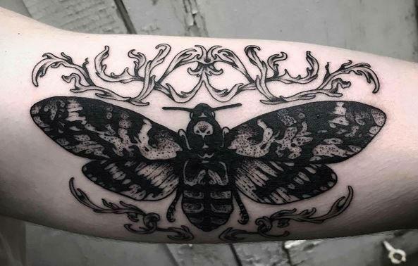 L'Encrerie original tattoos butterfly-w636-h600